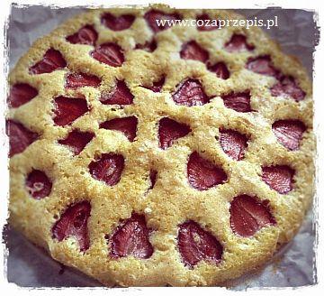Ciasto z owocami, bardzo proste