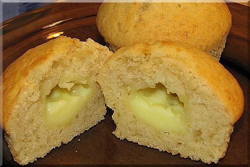 Muffinki (najprostsze) z budyniem