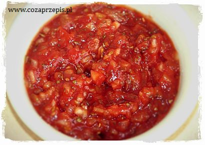 Sos cebulowo – ketchupowy