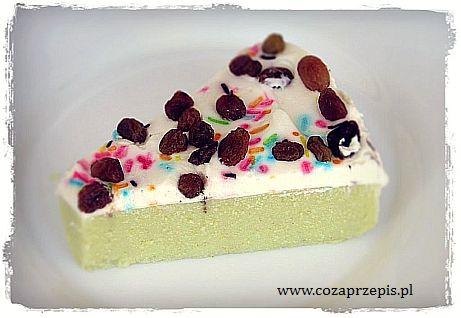 Ciasto z kaszy jaglanej z serkiem mascarpone