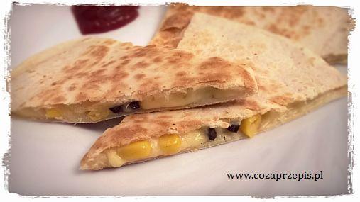 Quesadilla – tortilla z serem