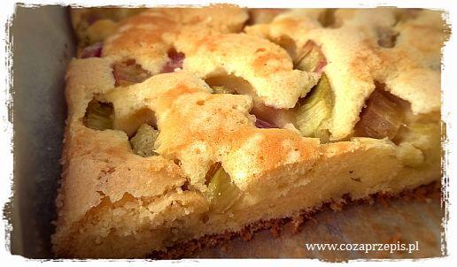 Ciasto z rabarbarem – szwedzkie rabarberkaka