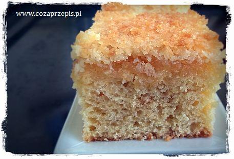 Ciasto z kokosową skorupką