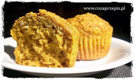 Muffinki dyniowe z płatkami owsianymi