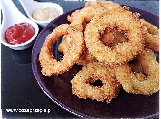 Krążki cebulowe czyli onion rings